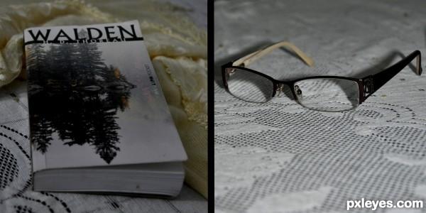 Book & Glasses