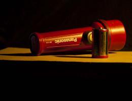 Flashlightandbattery