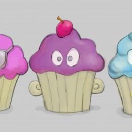 Nom... Nom... Cupcakes.