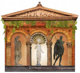 Roman-Greek Temple Picture