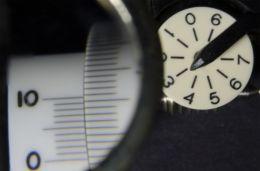 Planimeter Vernier