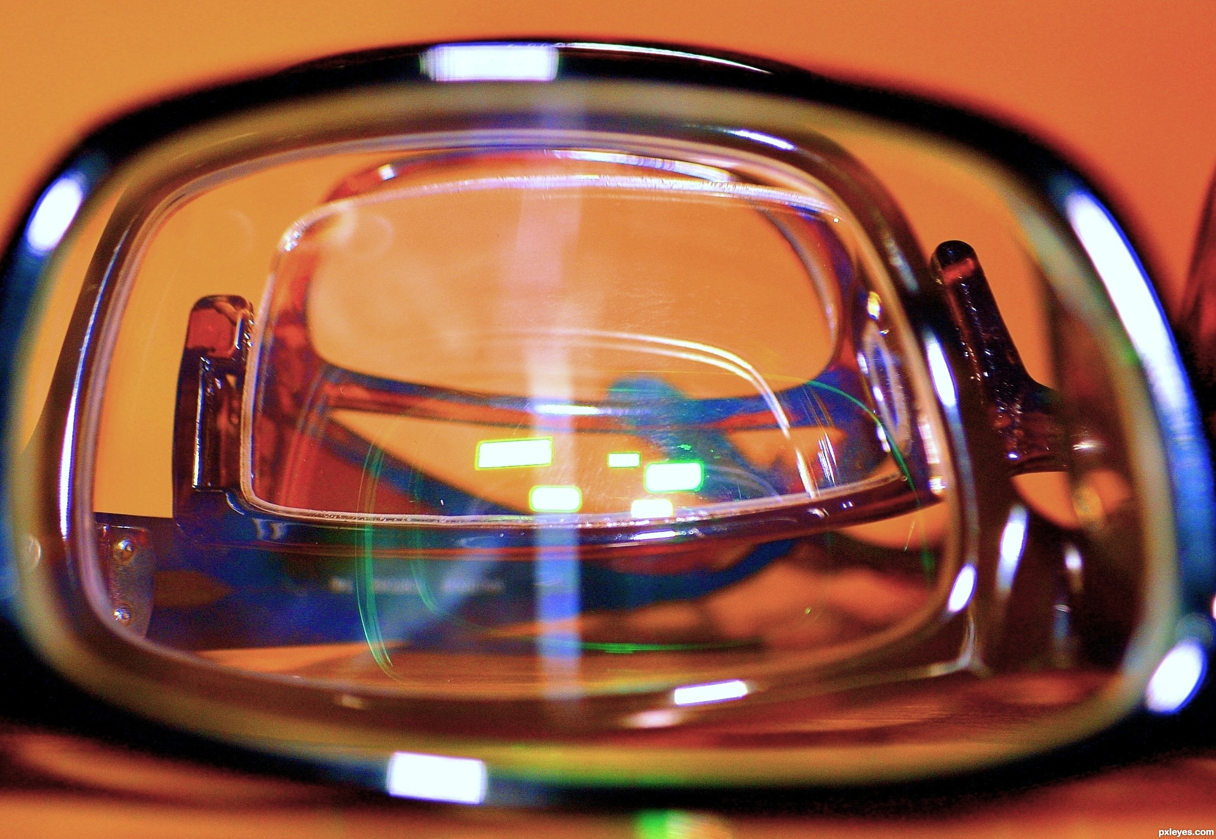 Frame within a Frame picture, by Wayne Cheah for: through glasses 2 ...