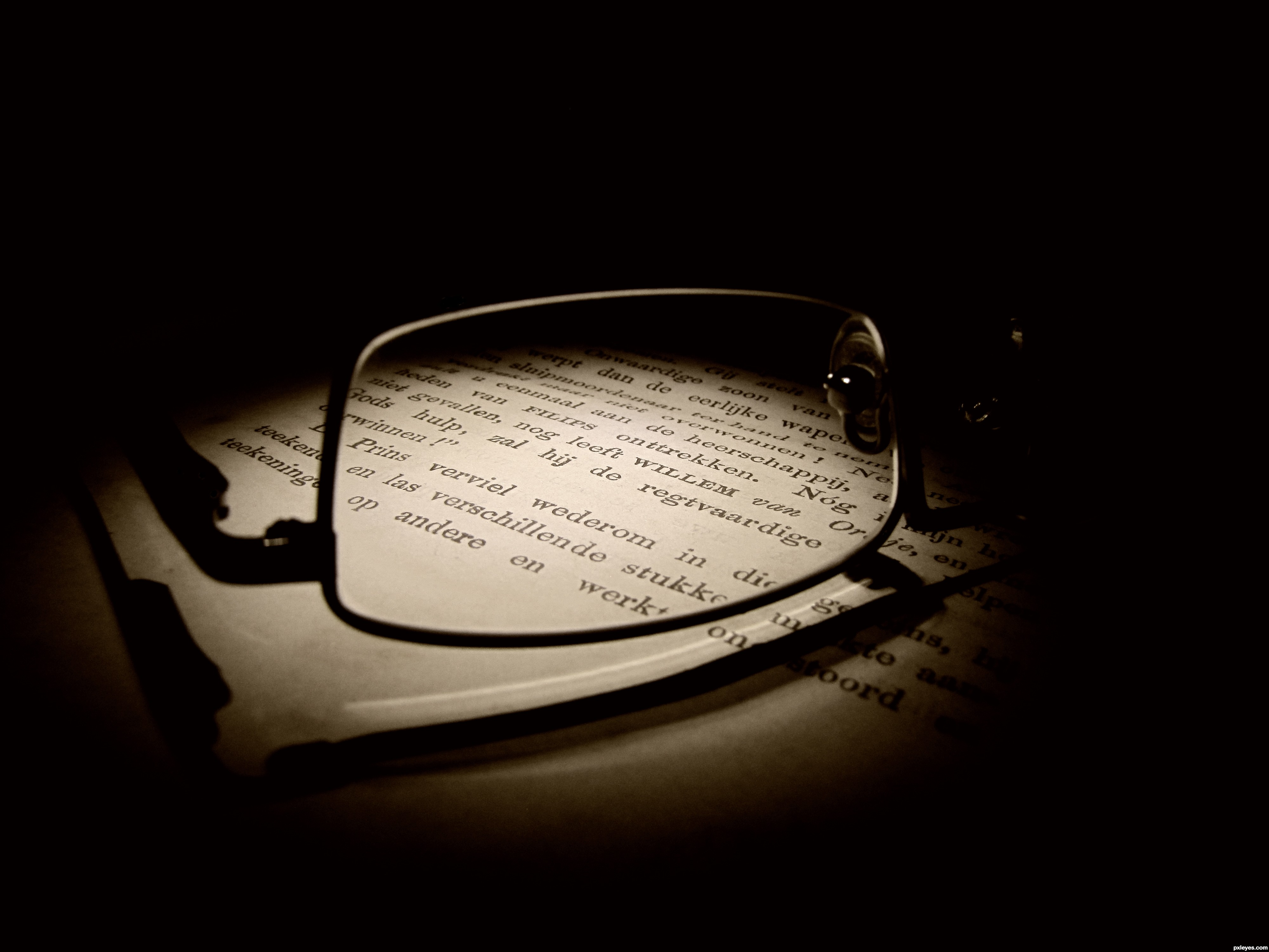 the book picture by robvdn for through glasses