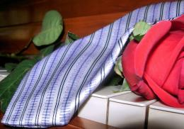 Tie with a Rose