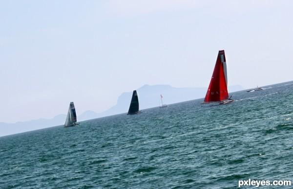 Sailing downhill