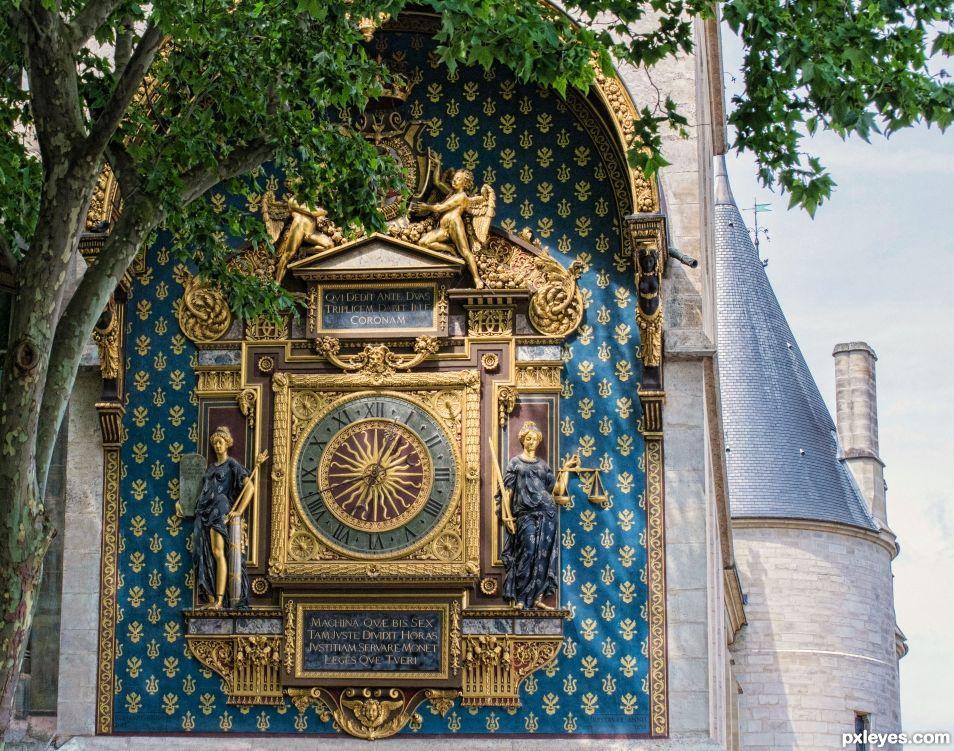 Conciergerie clock, Paris
