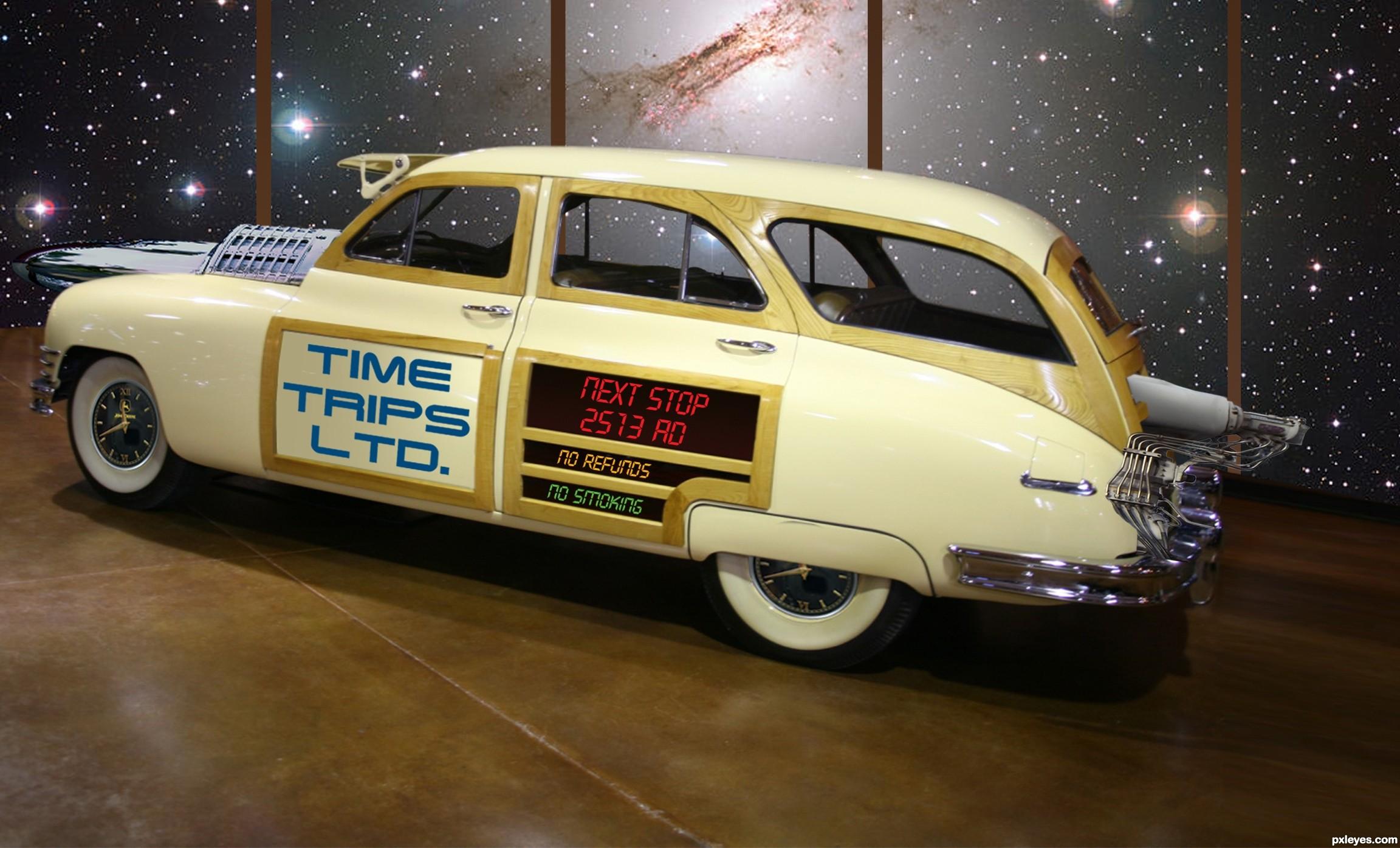 time machine car