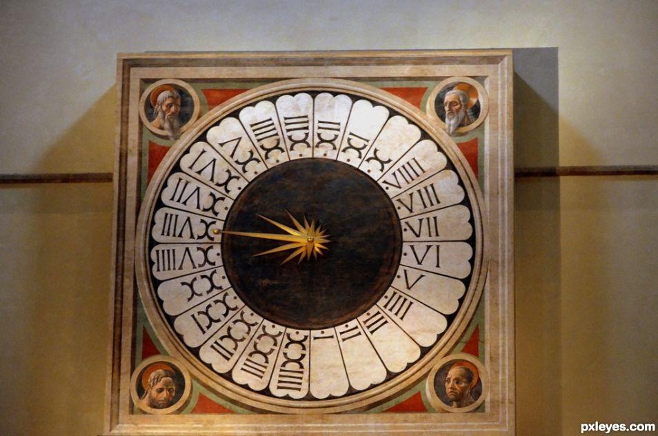 Anti Clockwise Clock