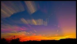 Sunset over Northeast Pennsylvania