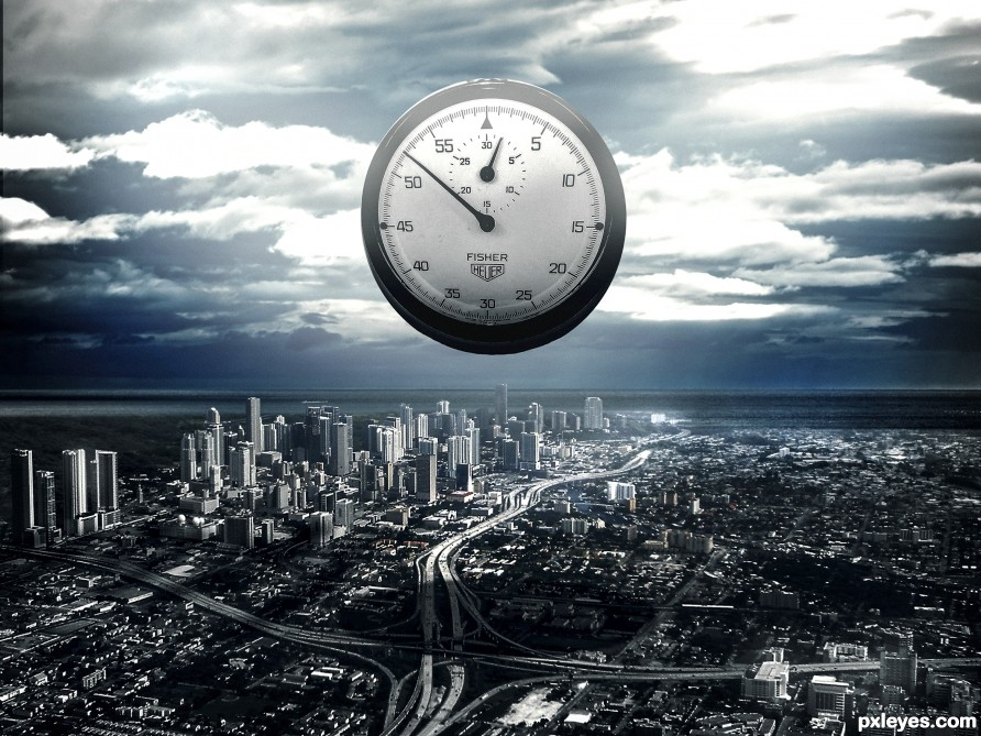 Time Has Come photoshop picture