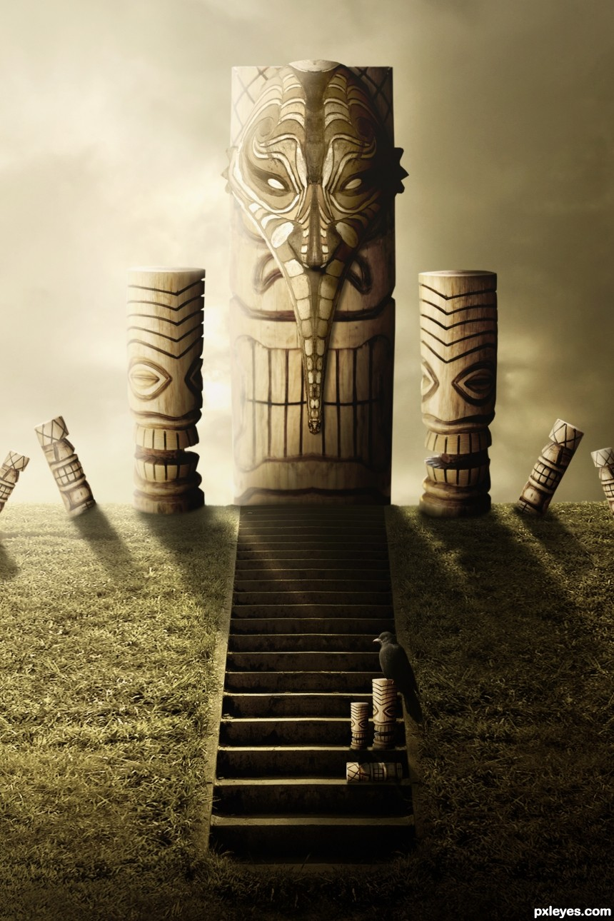 The Totem Altar photoshop picture)
