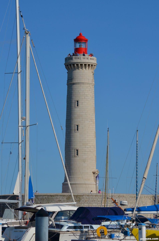 The Saint-Louis lighthouse