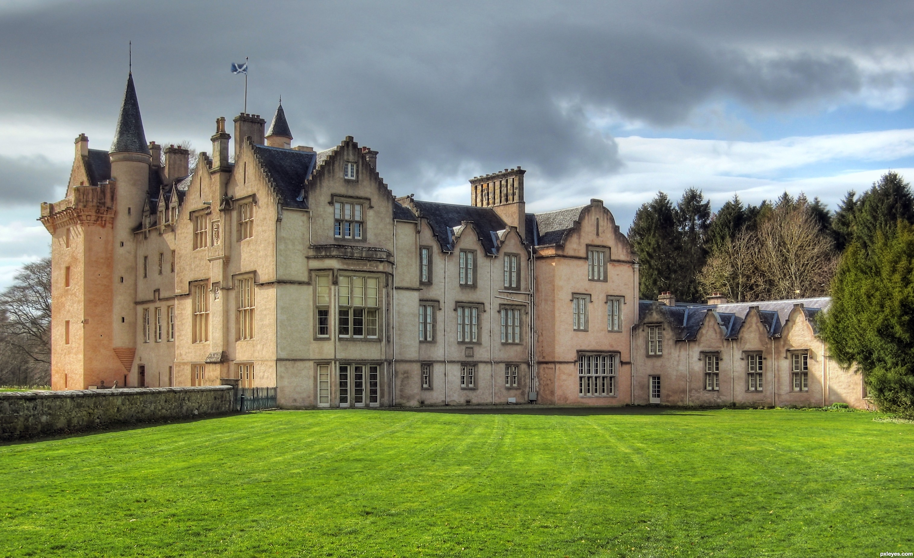 Brodie Castle picture, by jeaniblog for: town history photography ...