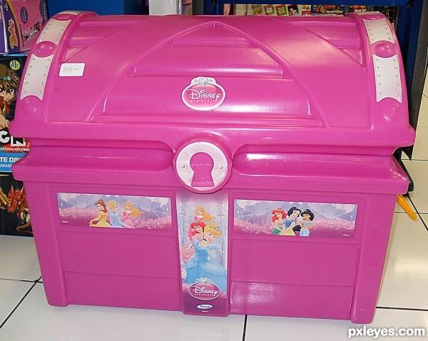 Pink Toy Box