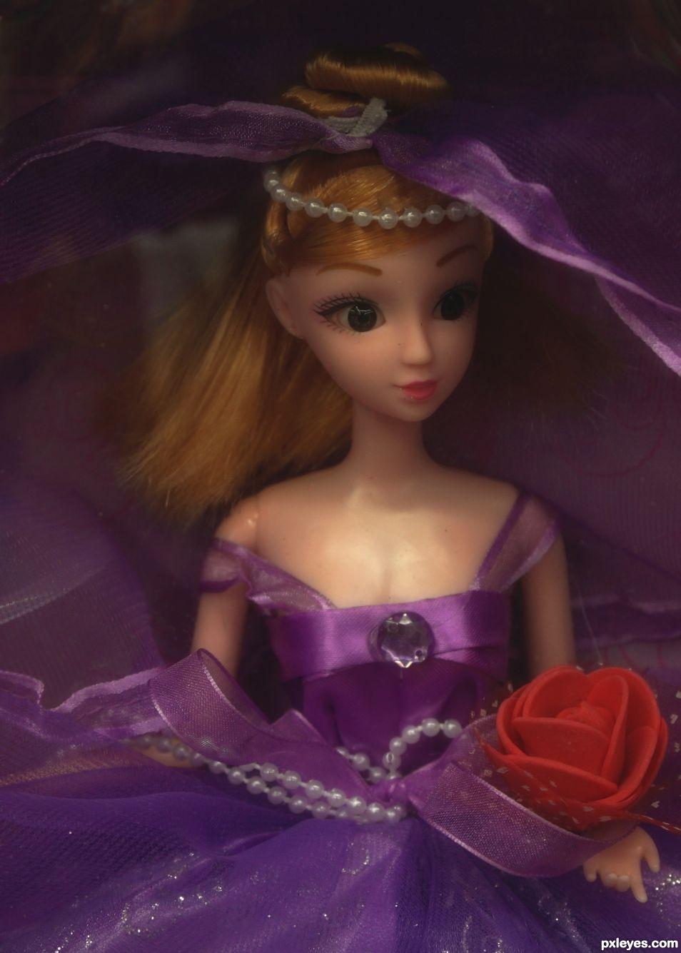 Purple Dolly