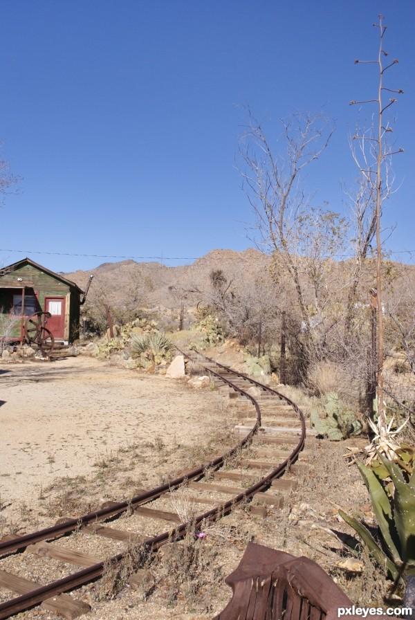 Abandoned in the Desert