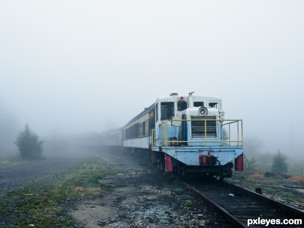 Ghost Train photoshop picture)