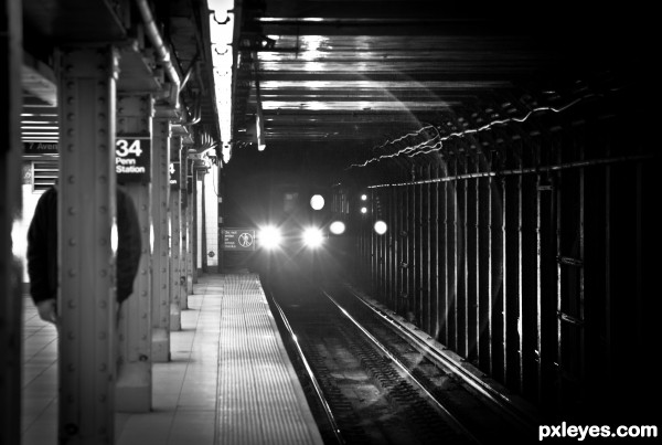 Penn Stations Monster photoshop picture)