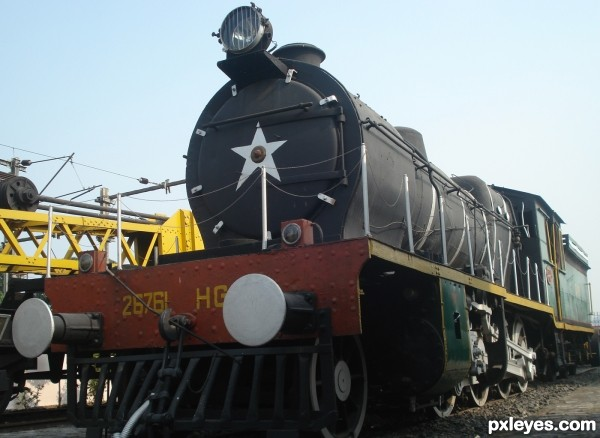 East India Railway steam engine