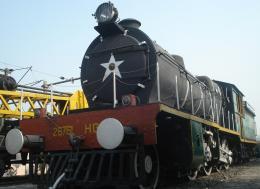 East India Railway steam engine