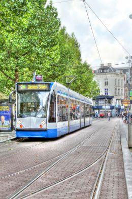 Trolley in Amsterdam