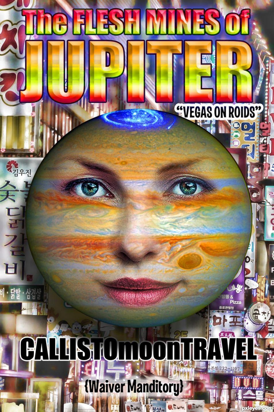 The Jupiter Booking
