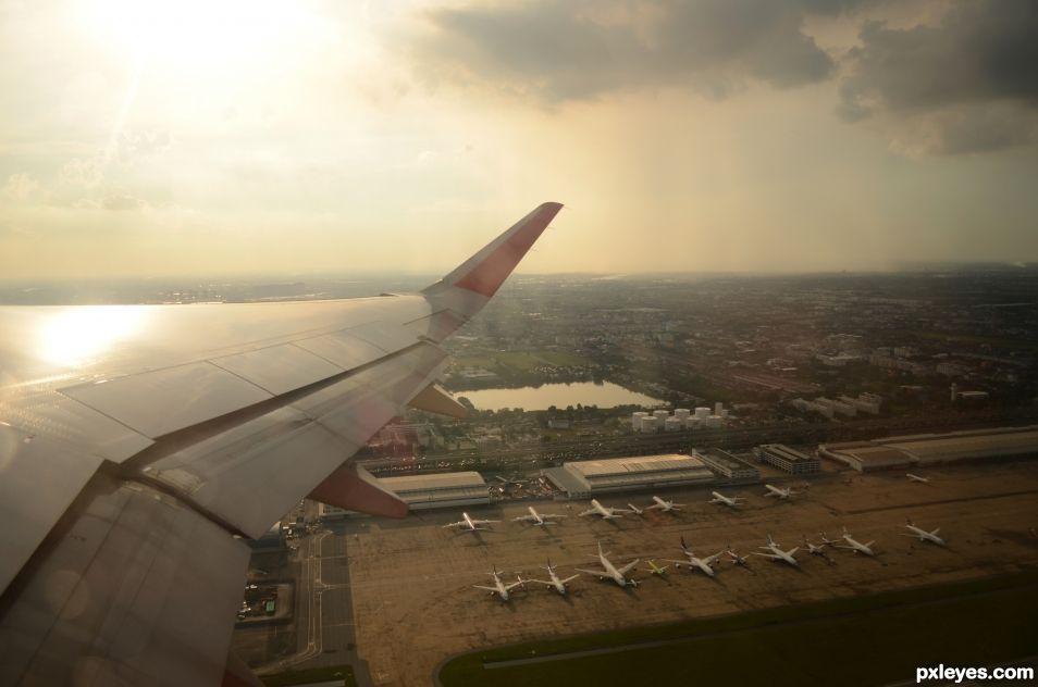 im flying to travel