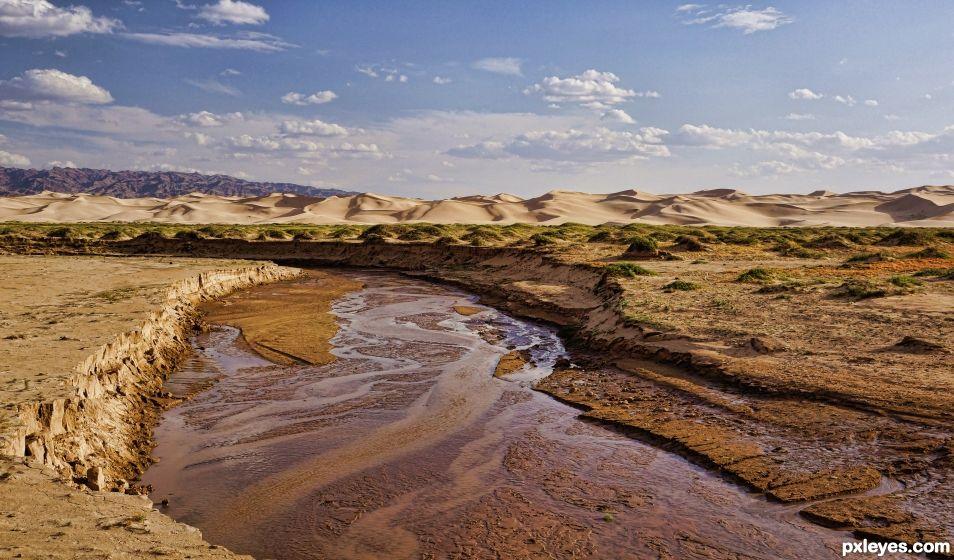 Gobi Desert, Outer Mongolia