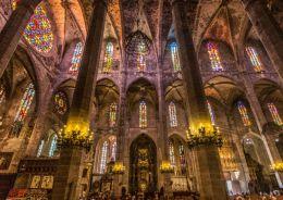 Palma Cathedral, Palma, Majorca
