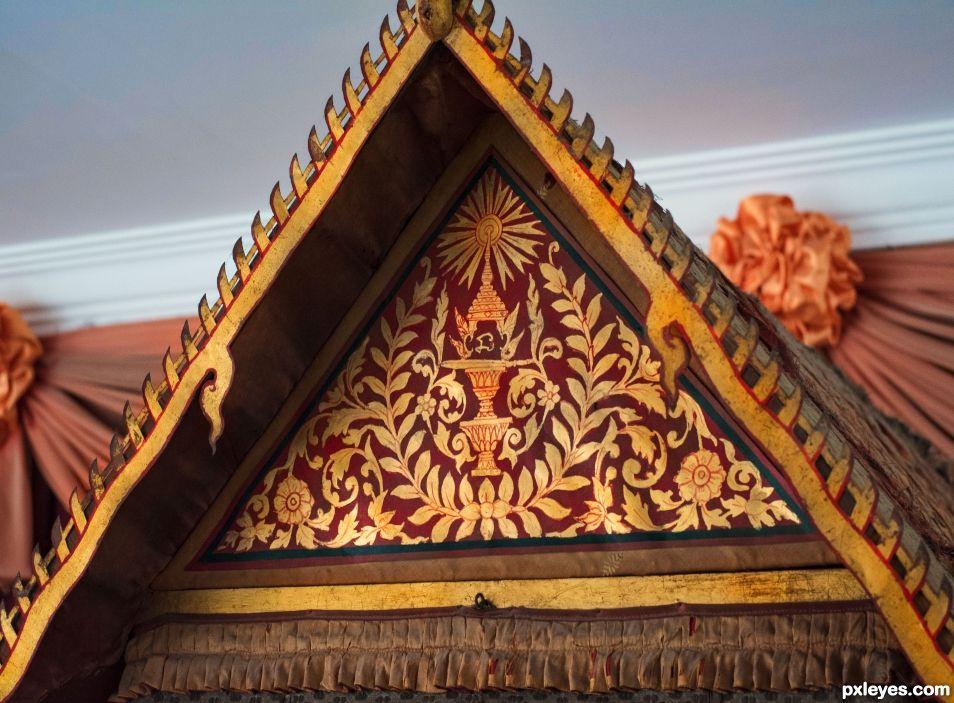 Palanquin ornament, Cambodia