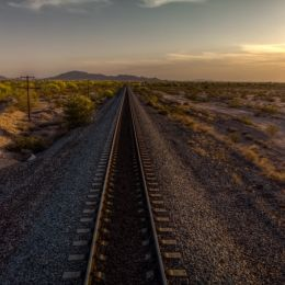 TrainTracksintheDesert