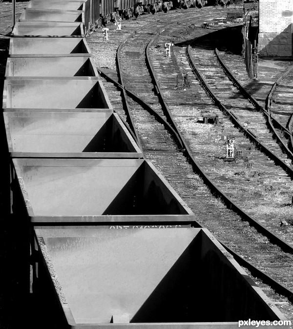 Triangular shadows