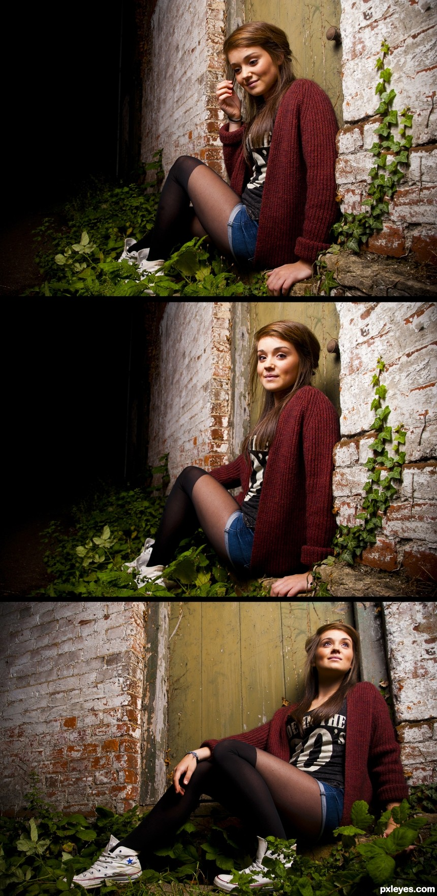 Step by Step photoshop picture)