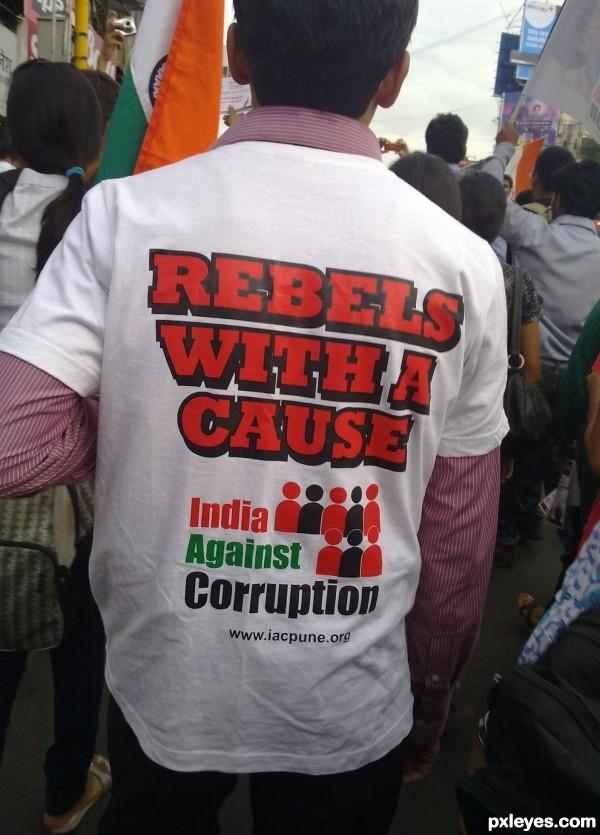 India against corruption!