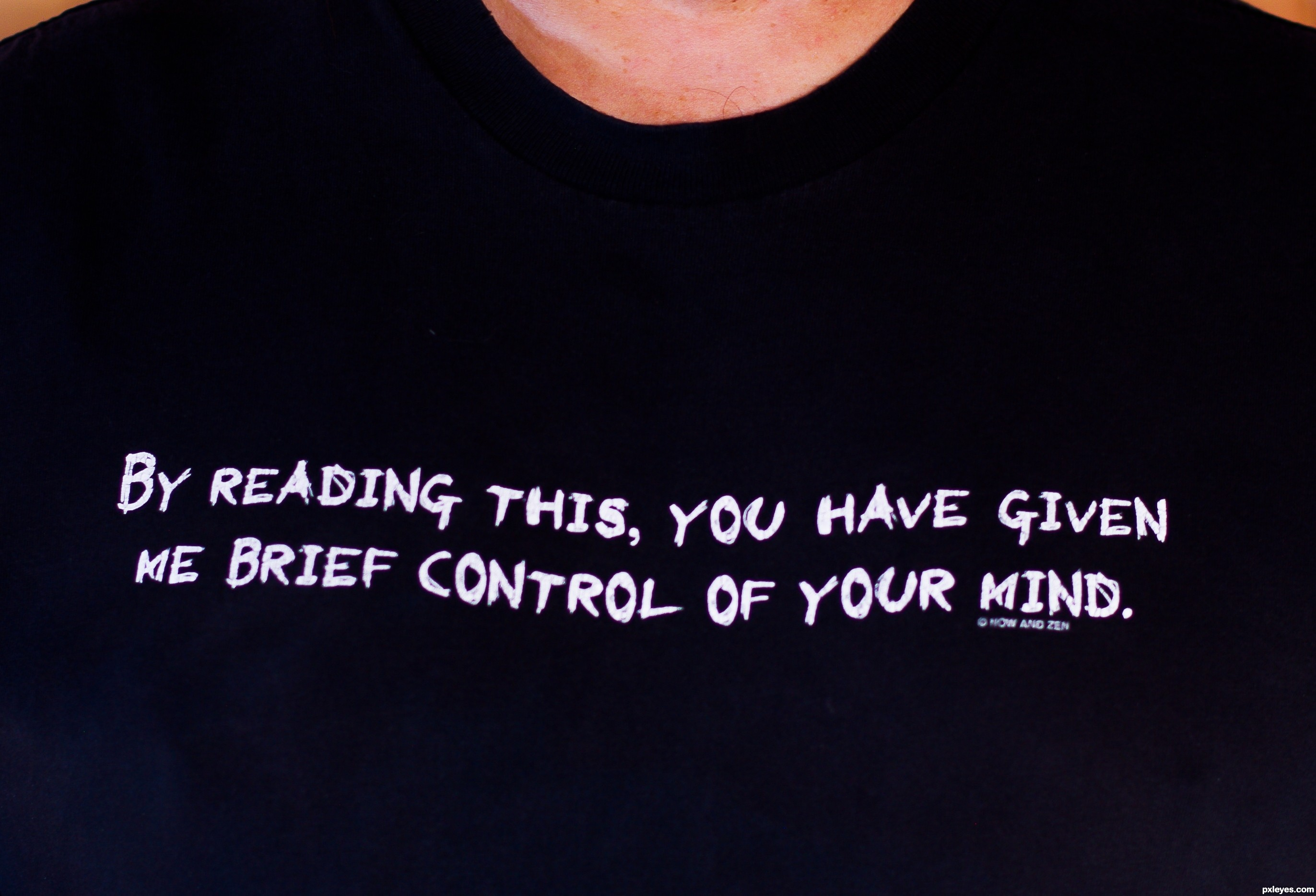 Mind control picture by kyricom for tshirt messages photography contest pxleyes com