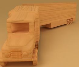 Woodentoylorry