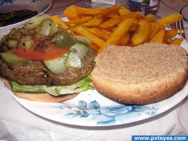 Burger & Fries MMMM