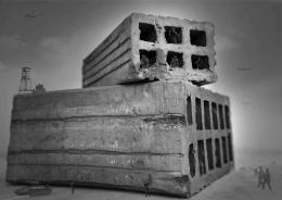 Bricks bunkers
