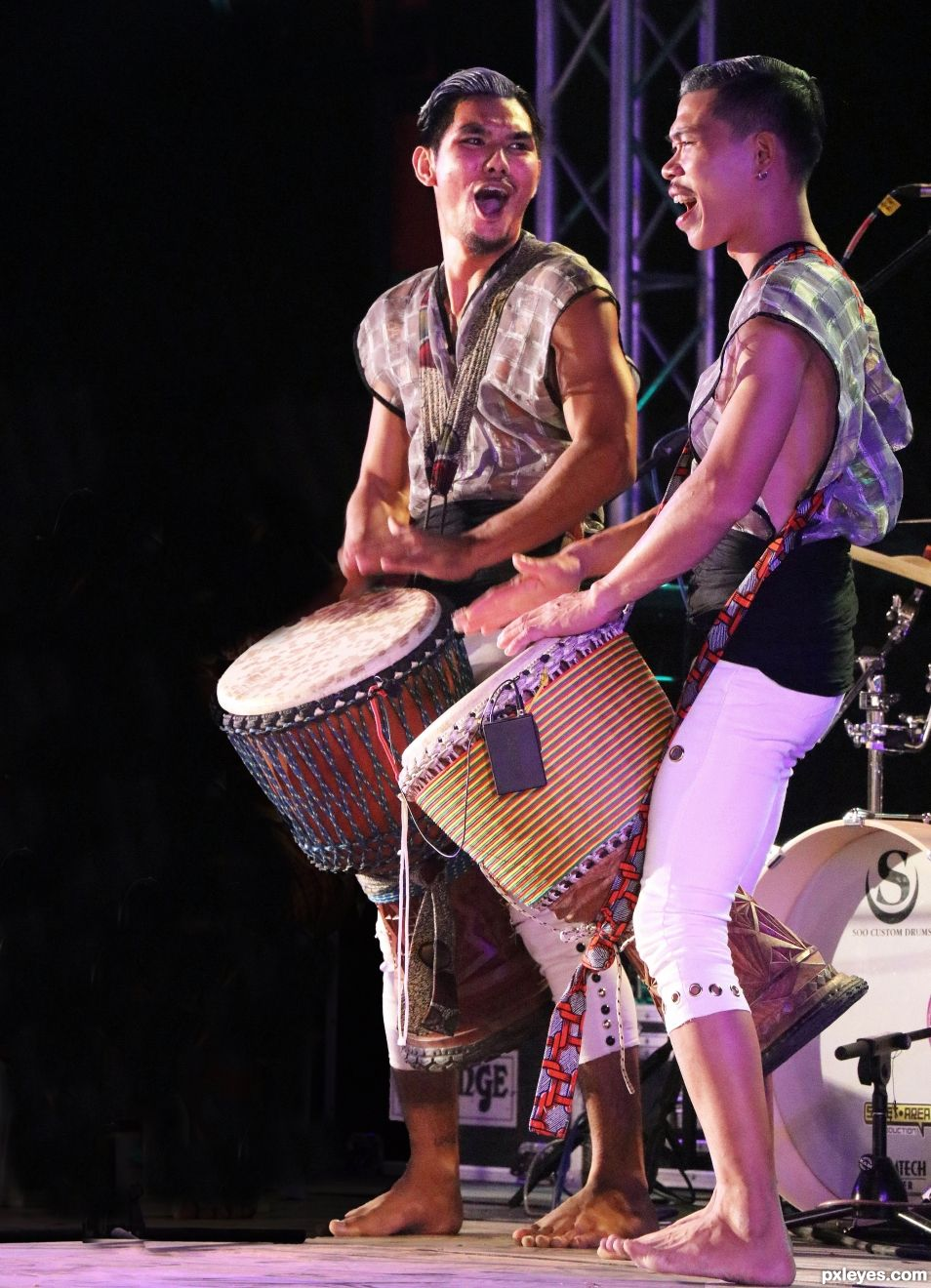 Entry number 106258 Drummers