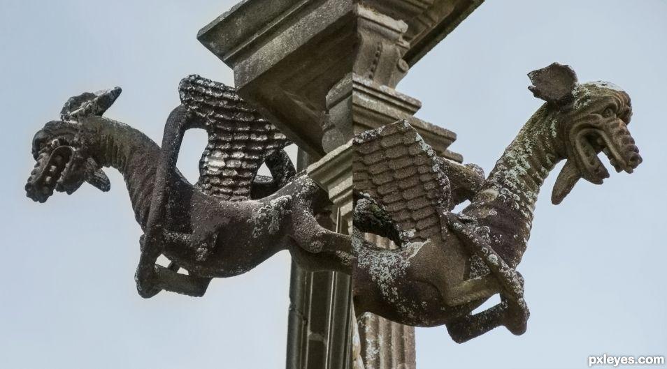 Siamese dragons