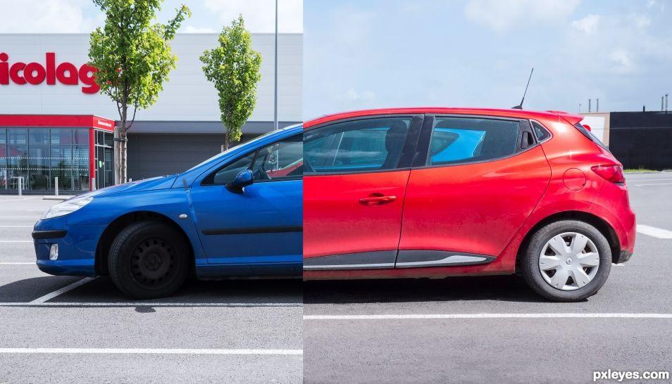 Two-tone car