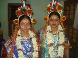 Two sister getting married