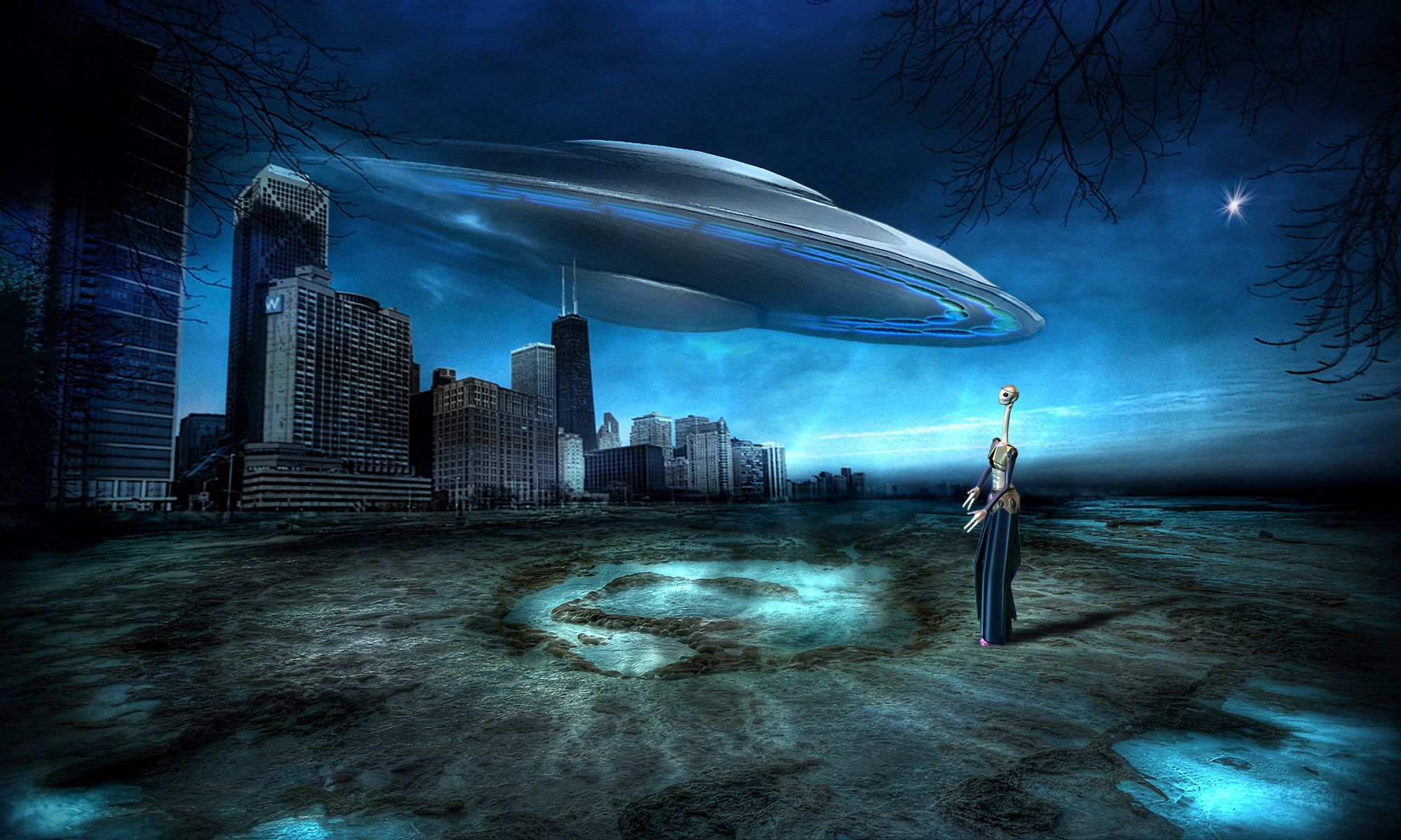 Even a photoshop ufo hoax contest http www pxleyes c 6 ufo hoax html
