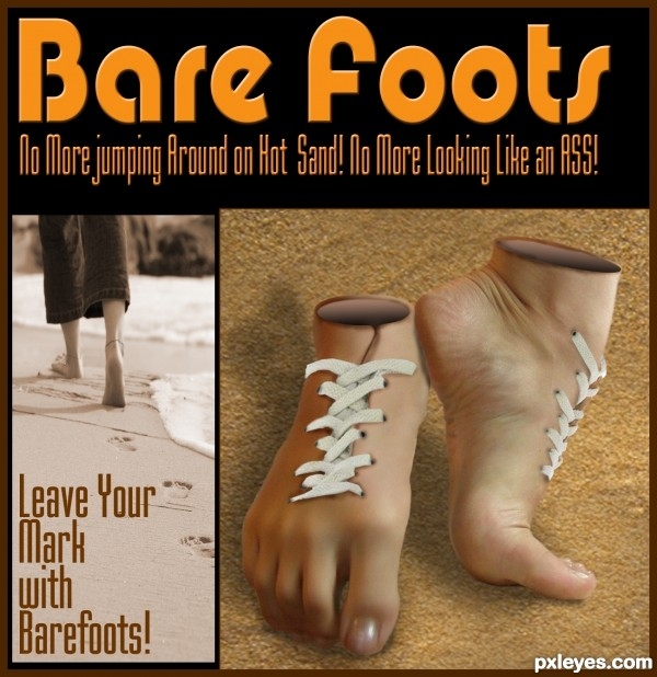 Go Bare Foot ... Its Cooler