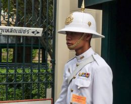 Grand Palace guard, Bangkok