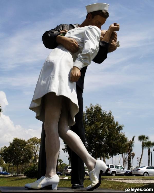 that frisky happy sailor