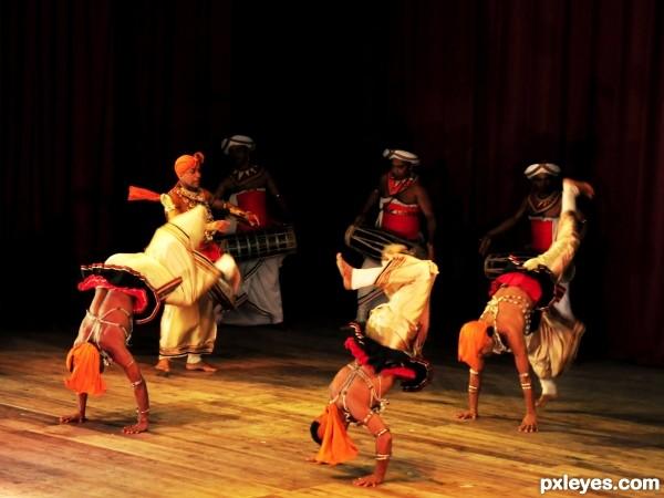 sri lankan dance troop