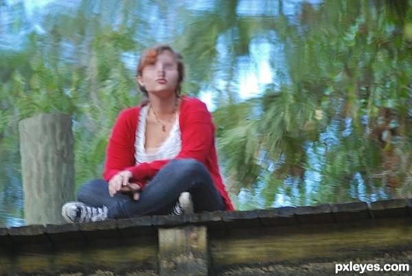 Reflection of jasmine