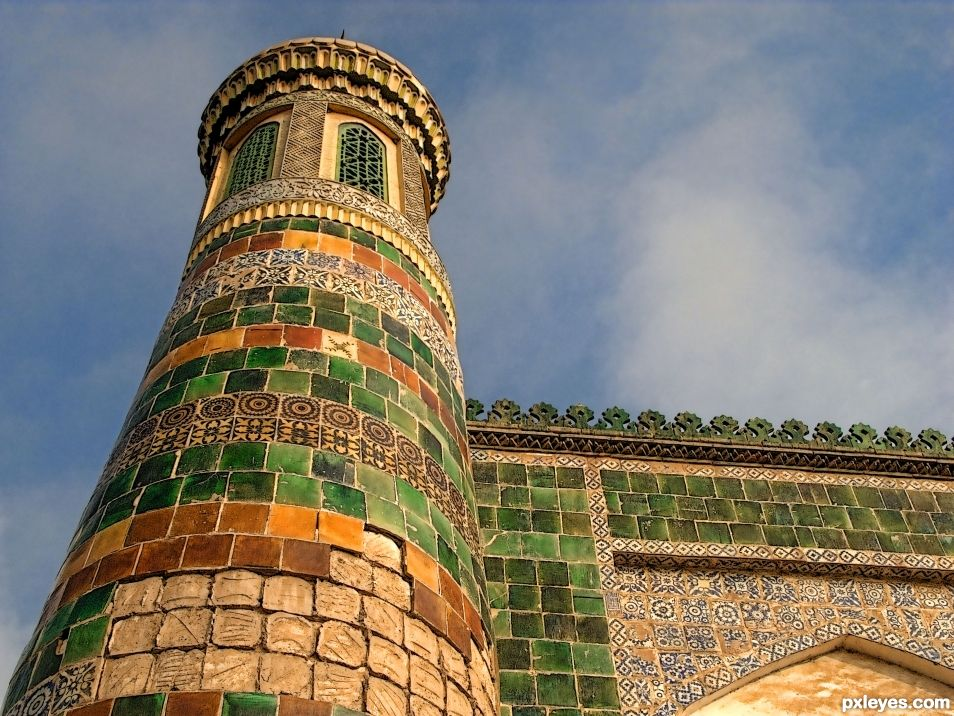 Turret, Mosque