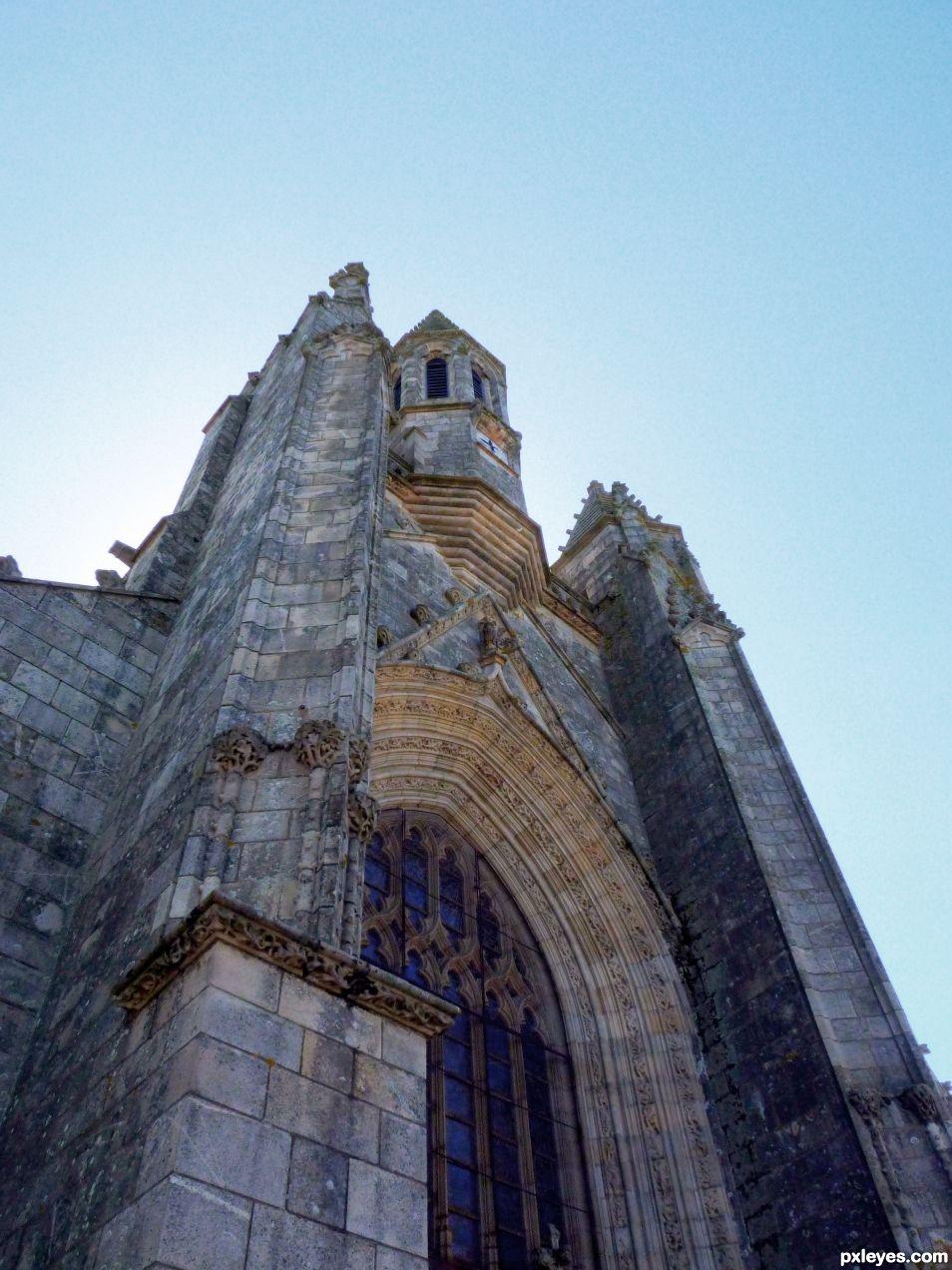 Saint-Aubin Collegiate of Guérande